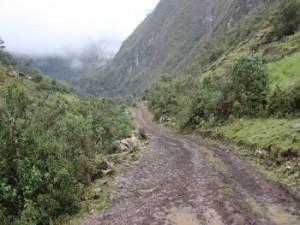 Straße von Minas nach El Rejo. Foto: Regionalregierung Amazonas
