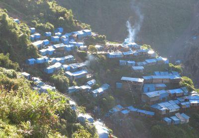 Bergbausiedlung Winchumayo (Puno). Bild: ANDINA