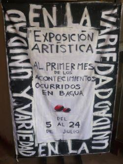 """""""UNIDAD EN LA VARIEDAD"""" - Ausstellung der ESNABAP Chachapoyas. Foto: D. Raiser"""