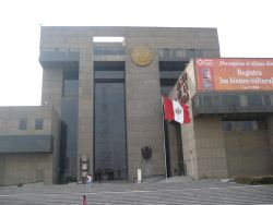Peruanisches Nationalmuseum (Museo de la Nacion). Foto: D. Raiser