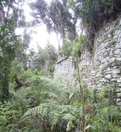 Purum Llacta: Ruinenstadt in der Nhe von Soloco (Chachapoyas/Amazonas/Peru). Foto: D. Raiser