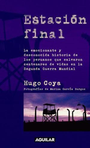"""Buchcover """"Estación Final"""" des peruanischen Autors Hugo Coya. Bild: Aguilar / ANDINA"""