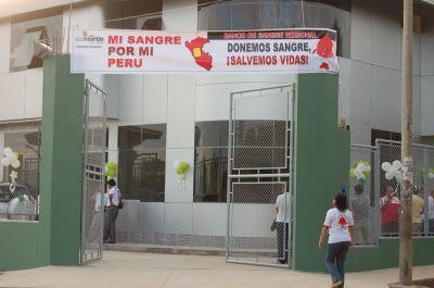 Die Blutbank der Region San Martín. Foto: MINSA.