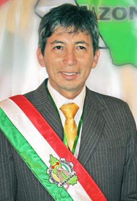 José Berley Arista Arbildo, Regionalpräsident von Amazonas. Foto: Regionalregierung Amazonas.