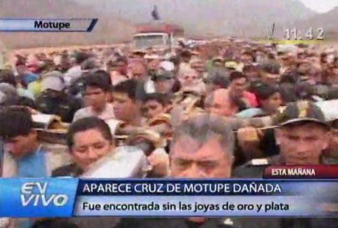 Cruz de Motupe (Chalpón). Bild: Canal N.