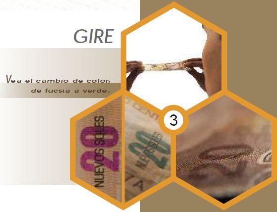 Falschgeld erkennen - Sicherheitshinweis der peruanischen Zentralbank. Bild: BCR.