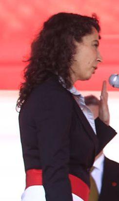 Carolina Trivelli: Perus neue Sozialministerin. Foto: Prensa Presidencia.