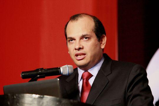 Luis Miguel Castilla, Perus Finanz- und Wirtschaftsminister. Foto: Norman Córdova / ANDINA.