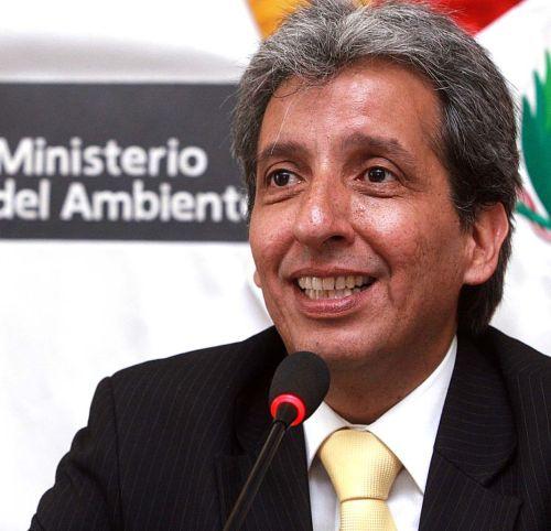 Manuel Pulgar Vidal, Perus Umweltminister. Foto: Luis Iparraguirre / ANDINA.