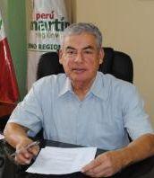 César Villanueva, Regionalpräsident von San Martín. Foto: RRPP Region San Martín.