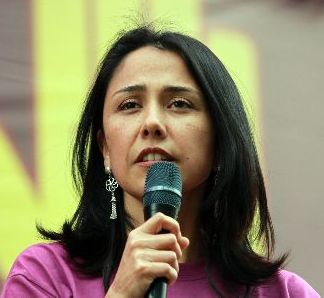 Nadine Heredia: Perus First Lady. Foto: ANDINA.