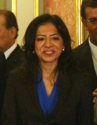 Gladys Triveño, Perus neue Produktionsministerin. Foto: Vidal Tarqui / ANDINA.