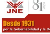 Jurado Nacional de Elecciónes, peruanisches Wahltribunal. Bild: jne.gob.pe.