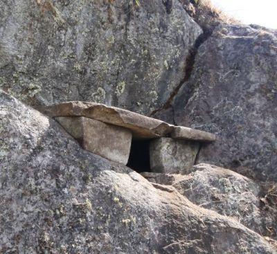 Ruhten hier Inca-Herrscher? Grabstätte bei Machu Picchu. Foto: ANDINA.