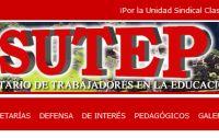 Lehrergewerkschaft SUTEP. Bild: Screenshot SUTEP.
