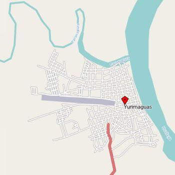 Karte Yurimaguas (Loreto). Quelle: OpenStreetMap.